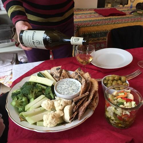 Cotes du Jura + Relish Platter = Unforgettable