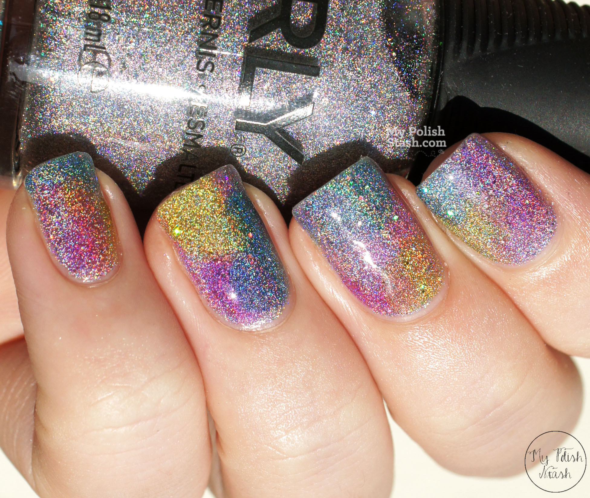 Orly-mirrorball-OPI-sheer-tints-macro