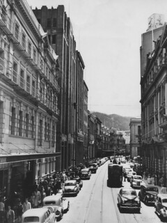 Wellington City - Lambton Quay in 1952