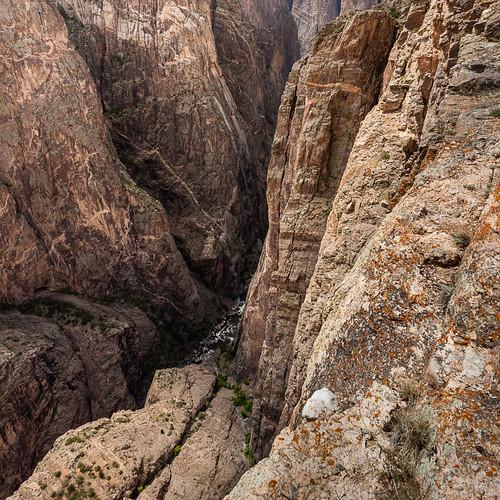 cliff usa brown abstract river square nationalpark colorado rocks chaos unitedstates deep vertigo canyon getty gorge np wrinkle crawford gunnison blackcanyon abyss