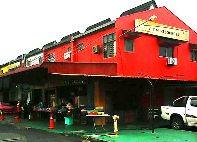Bandong Malay kuih stall