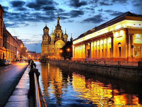 church reflections canal russia bluehour saintpetersburg griboedovcanal churchofoursaviorandthespilledblood