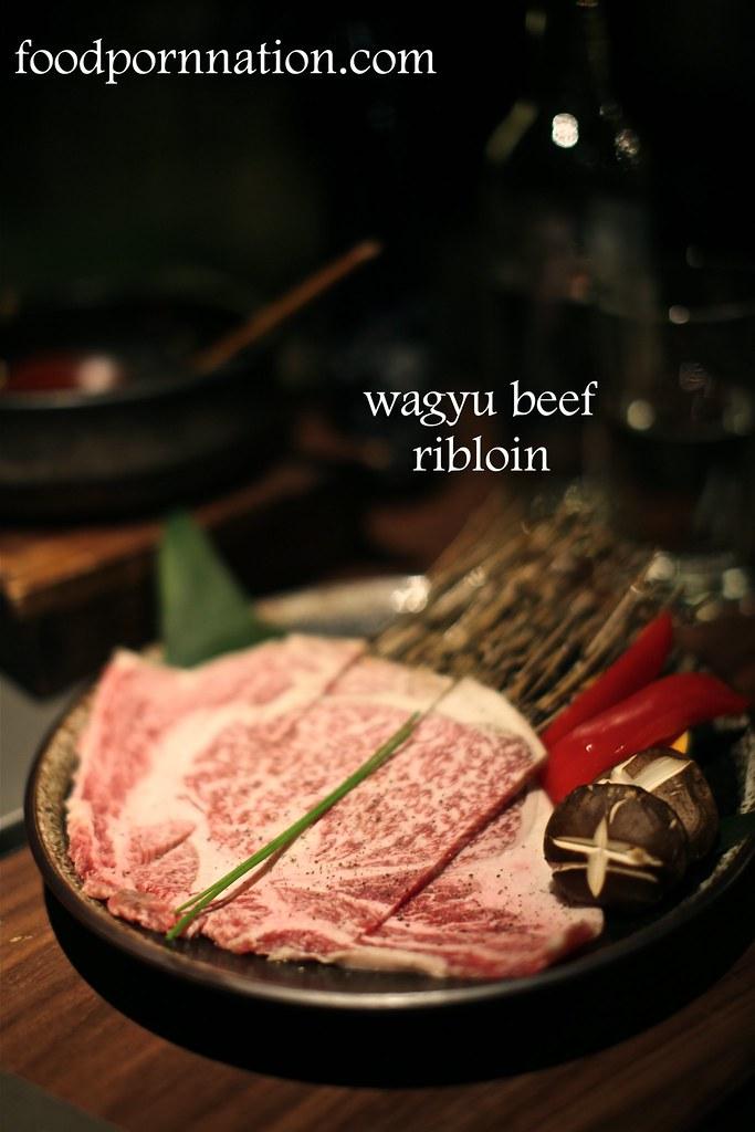 wagyu beef ribloin - Kintan, Holborn