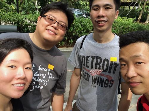 team lalangs selfie