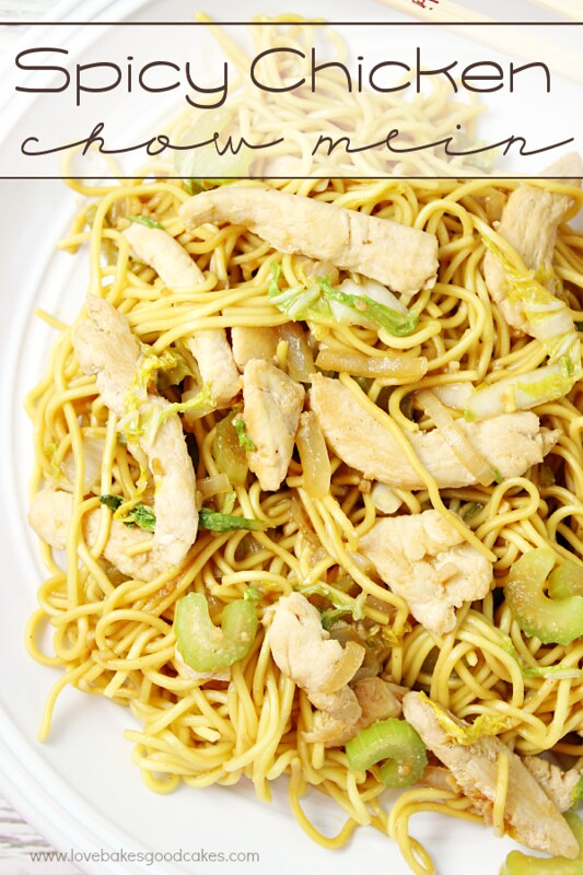 Spicy chicken chow mein and celebrating the chinese new year with this spicy chicken chow mein is perfect for a quick weeknight meal its even easier forumfinder