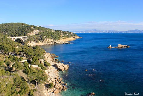 sea mer france canon paca provence viaduc méditerranée carrylerouet 2015 bouchesdurhône côtebleue