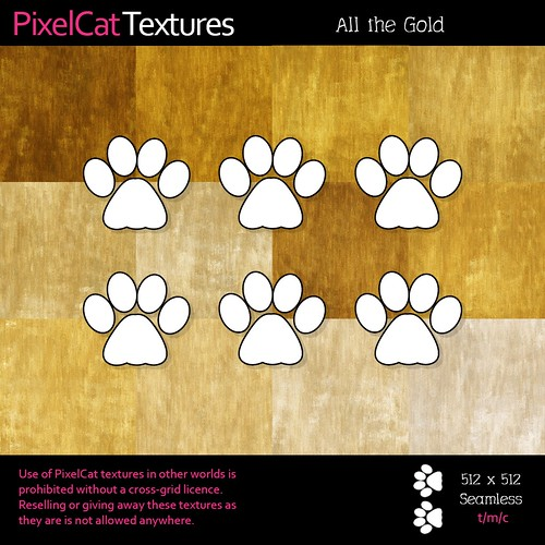 PixelCat Textures -All the Gold