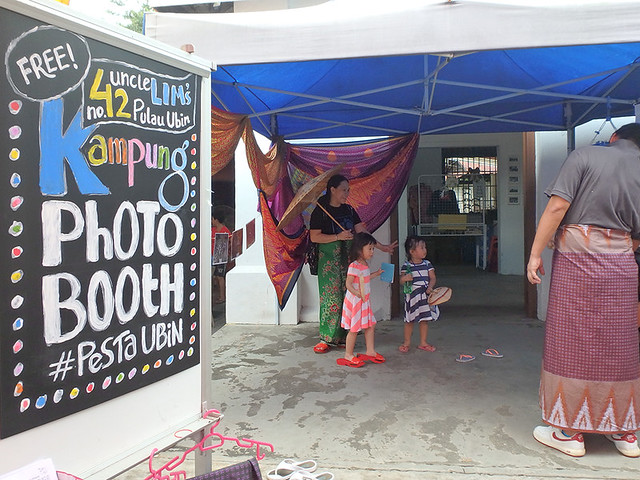 Fun at the Kampung Photo Booth