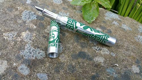 Brad Gothard is a Pen craftsman from Blackpool UK