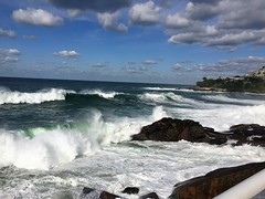 Ressaca na praia do Sheraton(Vidigal)