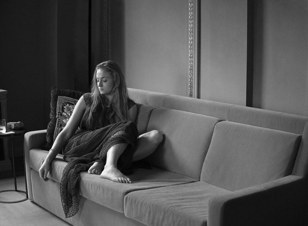 Софи Тёрнер — Фотосессия для «GQ» 2016 – 1