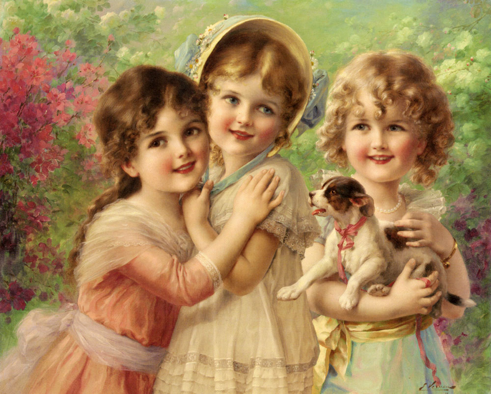 Best of Friends Emile Vernon - 1917
