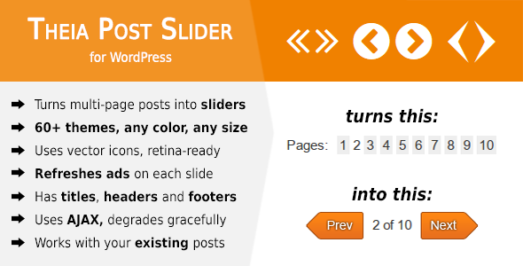 Theia Post Slider v1.14.0 for WordPress