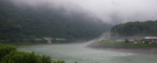 japan fog kumamoto kyushu sakamoto yatsushiro kumagawa