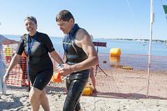 2016-06-25 Swim finish line AP (44) Gisele Pappas Gerry Payette