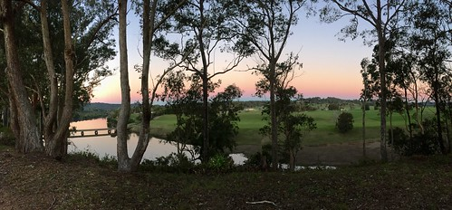 sunset panorama river wingham manningriver