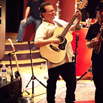 Fri, 24/06/2016 - 9:31am - Violent Femmes play for WFUV Marquee Members at Electric Lady Studios in New York City, June 20, 2016. Photo by Gus Philippas.
