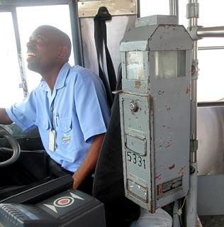 Bridgetown - Old Bus Farebox