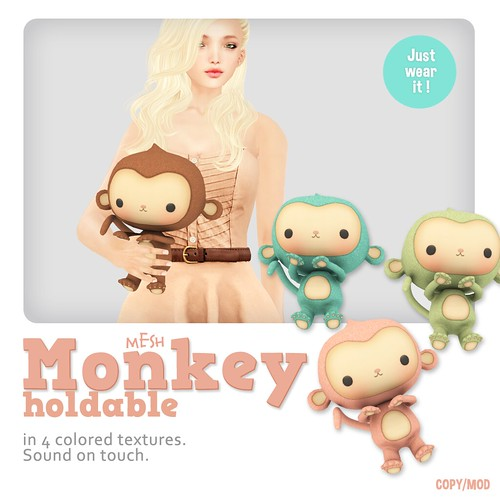 *MishMish* Monkey Holdable Pet