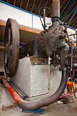 Chantier du moteur Ruston