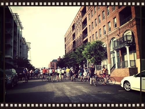 Cap2Cap ride 2013
