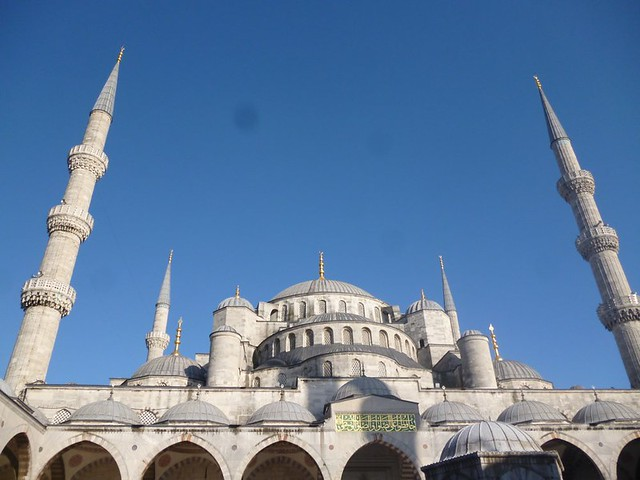 Exterior of Blue Mosque