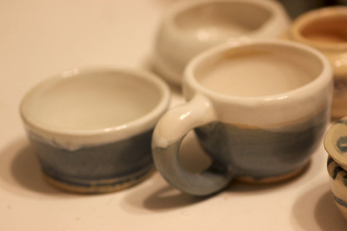 Finished First Pottery Attempts