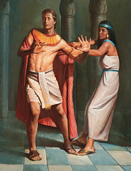 Joseph Resists Potiphar's Wife
