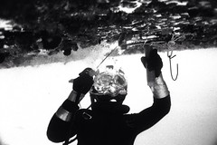 Underwater wet welding