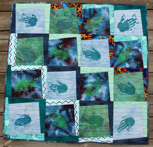 School of Fish Quilt