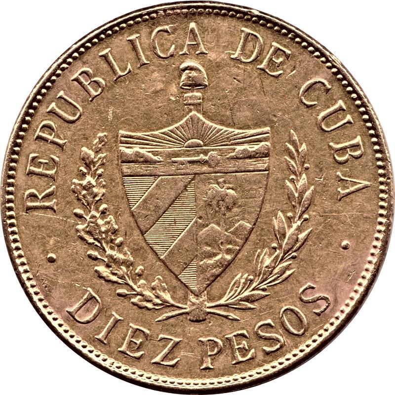 10 Pesos (José Martí). Cuba. 1916. Philadelphia 9033673148_fb8fe21bee_c