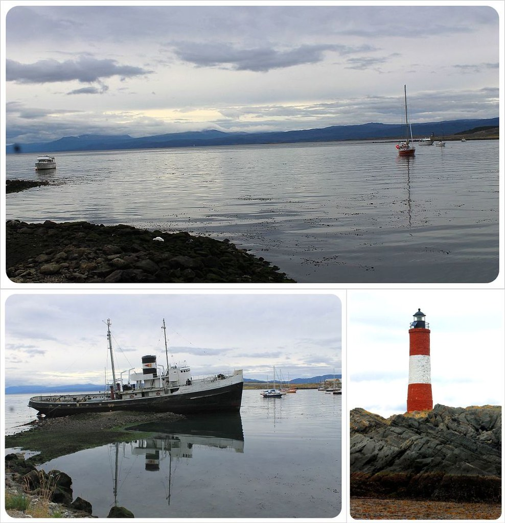 Beagle Channel and Les Eclaireurs