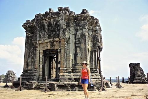 top of Phnom Bakheng