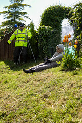 Scarecrow candids - The long arm of the law