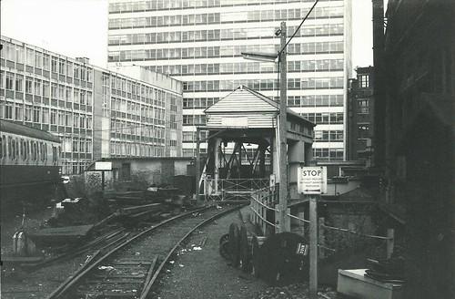 Waterloo & City Line at Waterloo station