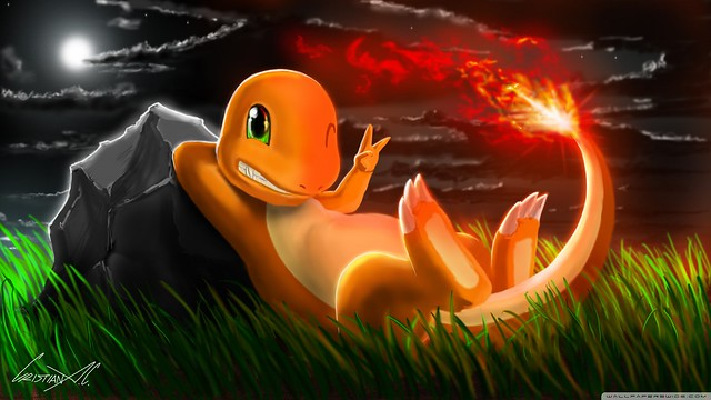 Charmander Pokemon 2 Wallpaper 2560x1440 Flickr Photo Sharing