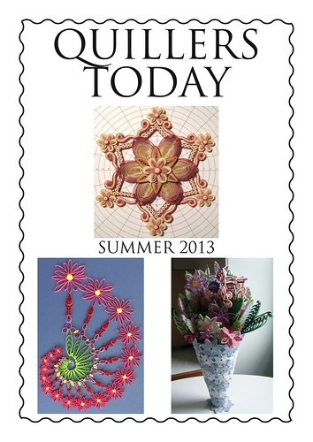 Quillers Today Summer 2013 front cover by Philippa Reid
