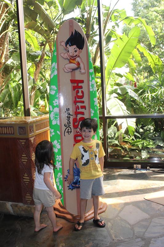 Surfboard at Disney's Polynesian Resort