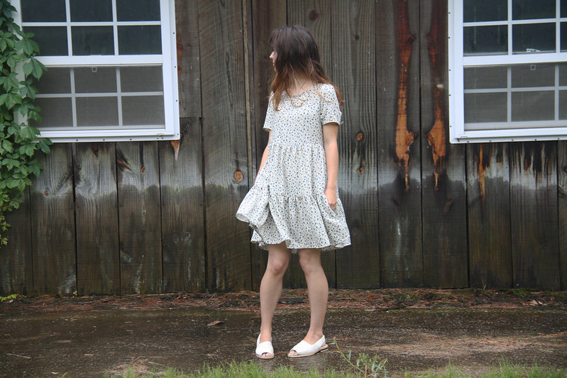 tiered dress diy