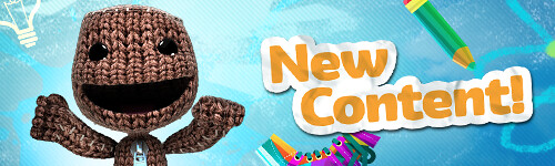 New Content in LittleBigPlanet