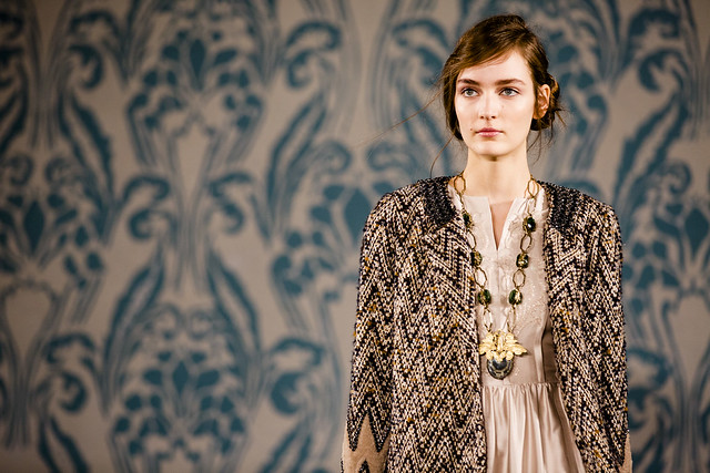 Tory Burch Fall 2013 Runway Image 3 photo credit Noa Griffel
