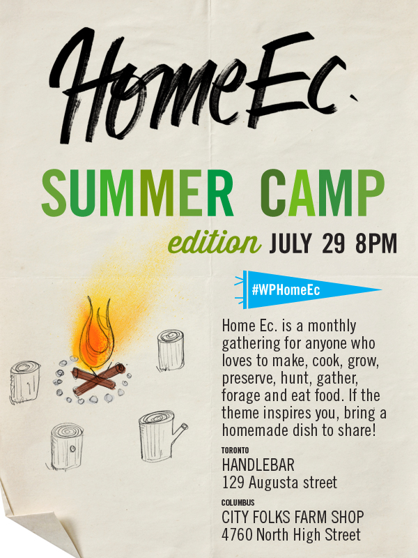 HomeEc #19: Summer Camp Inspired Gathering HomeEc
