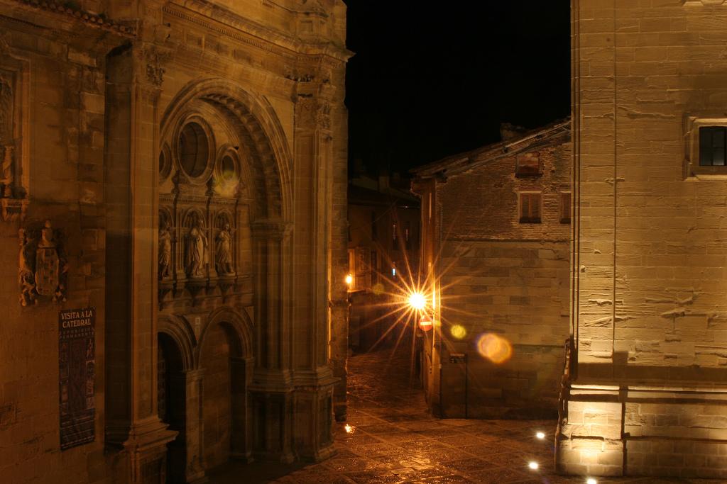 Vista nocturna de la Catedral. Autor, Neyzan