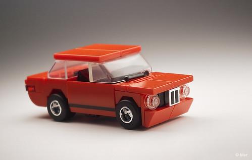 Lego BMW 2002 Turbo – Red