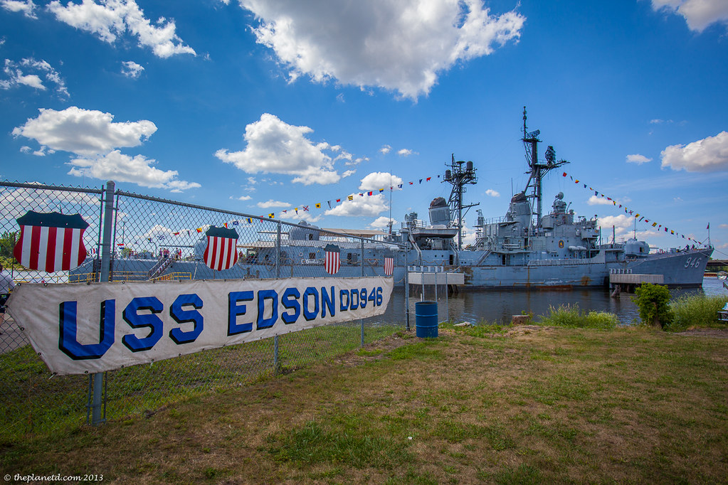 Bay city USS edson