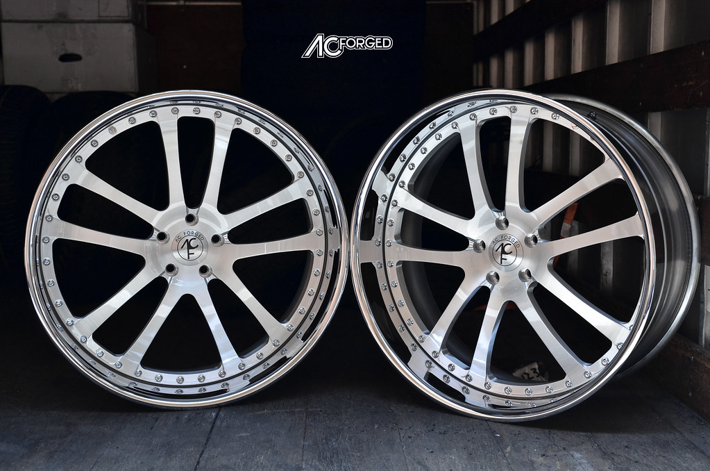24x9 5 Amp 24x10 5 For 2011 Bmw X6 Ac Forged Wheels