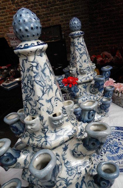 Delft Pottery at Delft, Holland