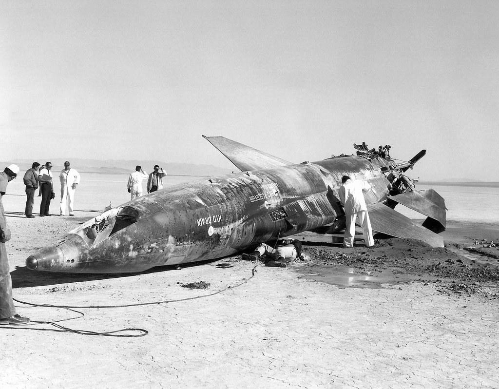 X-15 Crash at Mud Lake, Nevada