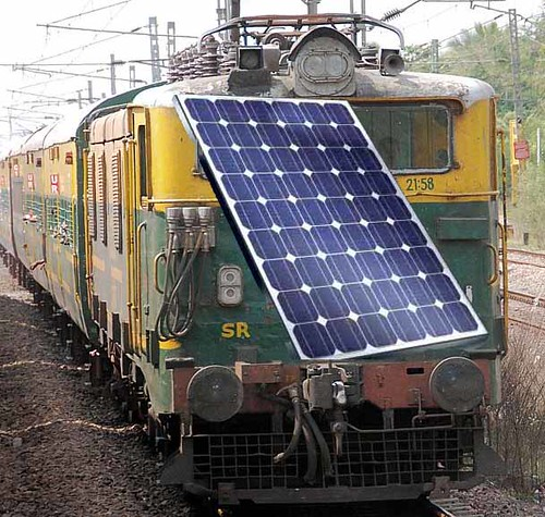 Indian Railways Solar Project