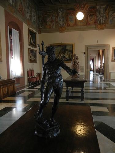 DSCN4694 _ Nettuno, Palazzo D'Accursio (Palazzo Comunale), Bologna, 18 October